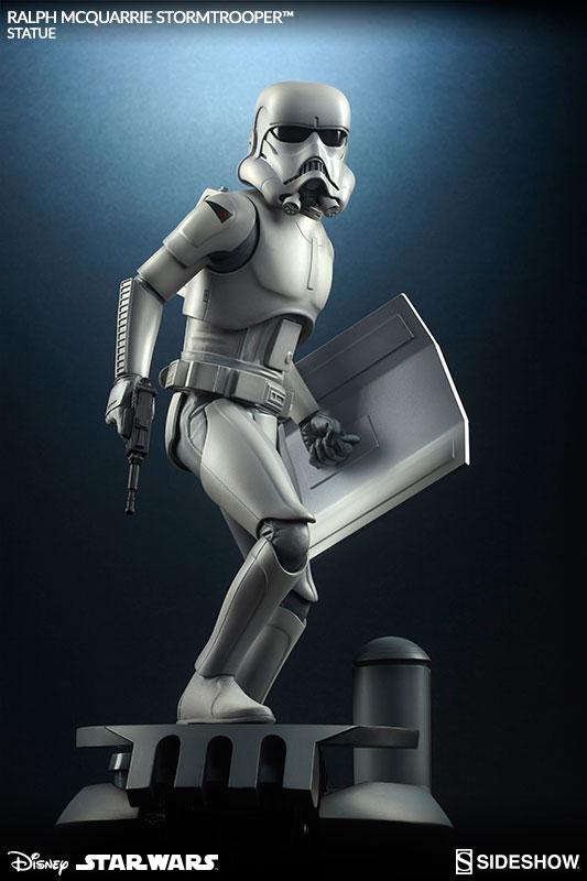 Stormtrooper Ralph McQuarrie Statue