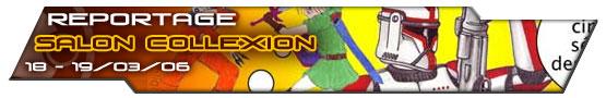 Bannière Reportage Salon Collexion 2006 MintInBox Collectors