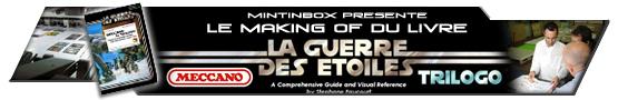 Bannière Reportage Making Of Livre Meccano Trilogo 2006