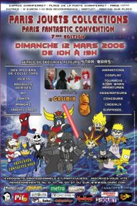 Affiche PJC 2006 03 Mars Paris Jouets Collections MintInBox Collector