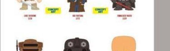 Funko : Nouvelle série de figurines Star Wars Pop Vinyls