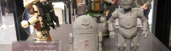 Herocross : R2D2 & C-3PO Hybrid Metal Figuration