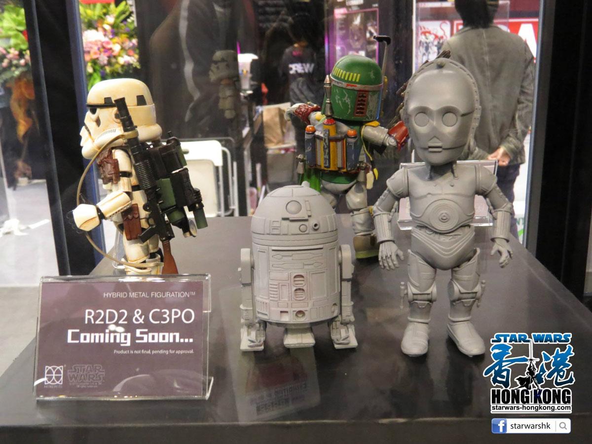 Herocross R2D2 & C-3PO Hybrid Metal Figuration