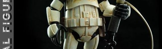 Herocross : Sandtrooper Hybrid Metal Figuration