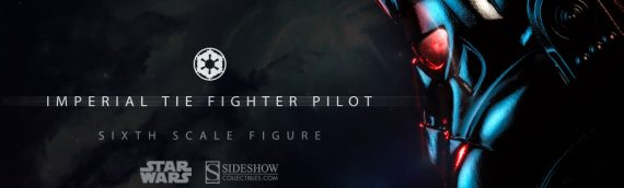 Sideshow Collectibles : TIE Fighter Pilot Sixth Scale Figure