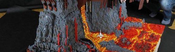 LEGO : Mustafar Diorama