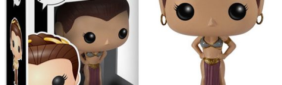 Funko : Star Wars Pop! Slave Leia et Luke Skywalker