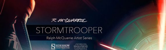 Sideshow Collectibles – Stormtrooper Ralph McQuarrie Artist Series