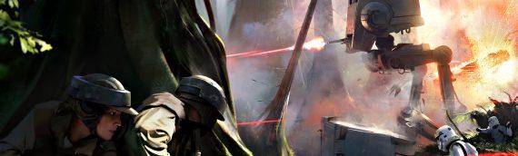 Un petit apercu de Star Wars Battlefront sur Endor