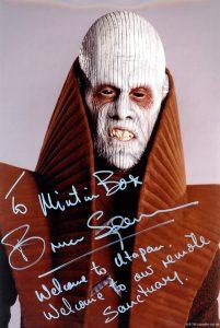 Autographe Bruce Spence - Toystar
