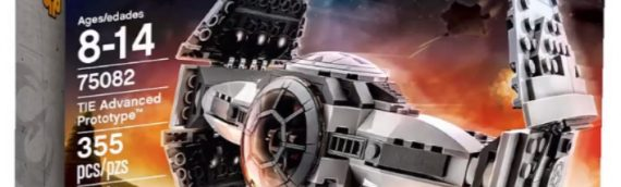LEGO – Le TIE Prototype de l'Inquisiteur en vidéo