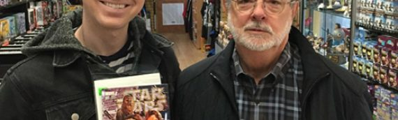 Quand on croise George Lucas dans un magasin de Comics