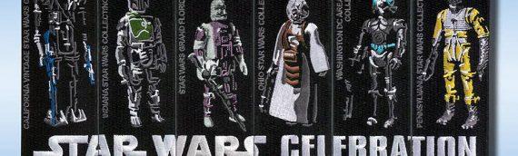 Star Wars Celebration Anaheim – Bounty Hunter Patchs Set