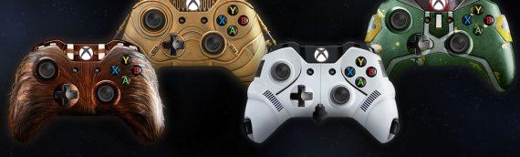 Microsoft : Des manettes customs Star Wars