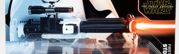 Hot Wheels : The Force Awakens First Order Stormtrooper Car