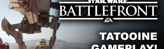 Electronic Arts – Star Wars Battlefront direction Tatooine