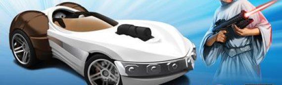 Hot Wheels : Star Wars Princess Leia Car