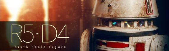 Sideshow Collectibles : R5-D4 Sixth Scale Figure