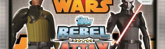 TOPPS – Star Wars Rebels Attax Saison 2
