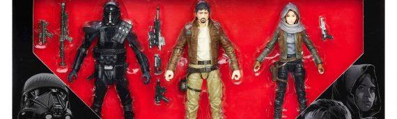 Hasbro : Un nouveau 3-Pack The Black Series Rogue One