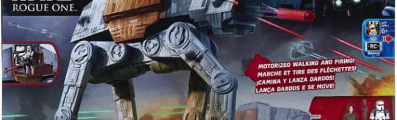 Hasbro : Star Wars Rogue One Rapid Fire Imperial AT-ACT