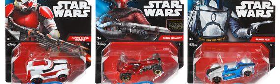 Hot Wheels – Nouvelles voitures Star Wars