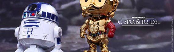 Hot Toys – TFA C-3PO & R2-D2 Cosbaby Bobble