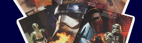 Set de Lithographies The Force Awakens chez Disney Store