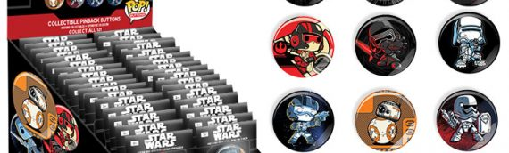 Funko : Pop! Buttons! Star Wars