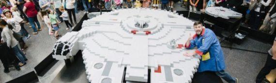 LEGO – Le Faucon Millenium de tous les records