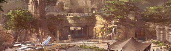 Un nouveau concept art pour Star Wars Land
