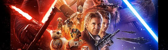 Official Pix – Harrison Ford signe le poster de The Force Awakens