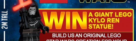 LEGO – Une minifig de Kylo Ren de 2 mètres de haut à gagner