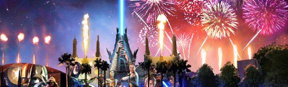 Disney présente son nouveau spectacle Star Wars