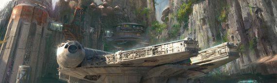 Le Star Wars Land se dévoile