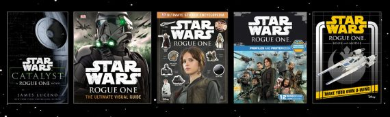 Rogue One – Le plein de livres Star Wars !