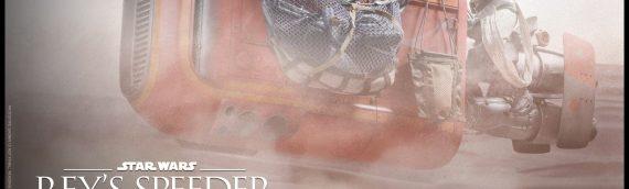 Hot Toys – Le speeder de Rey