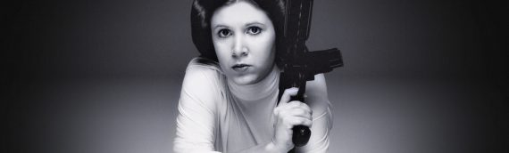Official Pix – Autographes de Carrie Fisher