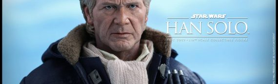 Hot Toys : Han Solo & Chewbacca The Force Awakens