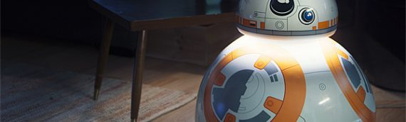 Une lampe « BB-8 Life-Size »