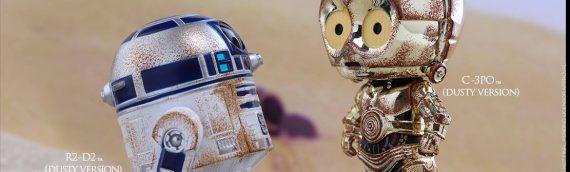 Hot Toys : C-3PO & R2-D2 Cosbaby Bobble-Head Set