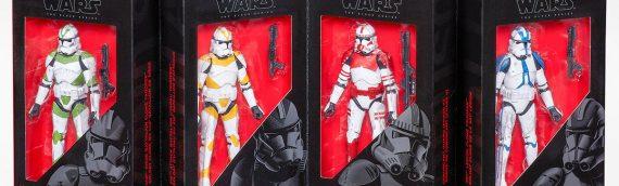 Hasbro – The Black Serie Clone Trooper 4-Pack exclu EE