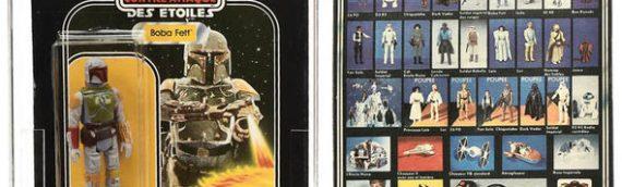 Star Wars aux enchères – Des prix fou !
