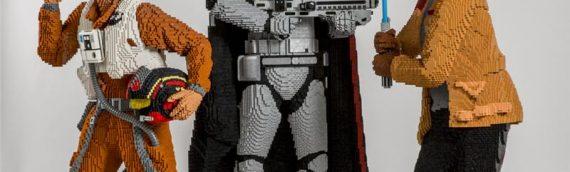 LEGO – Trois nouvelles statues Life-Size