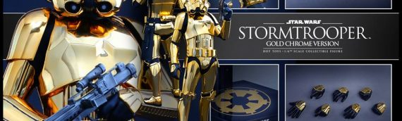 Hot Toys – Stormtrooper Gold Chrome Version