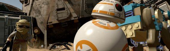 LEGO Star Wars : The Force Awakens – Nouvelles images du jeux vidéo
