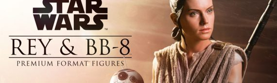 Sideshow Collectibles – REY & BB-8 Premium Format Figure
