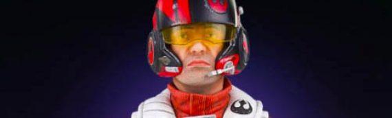 Gentle Giant – Poe Dameron TFA X-Wing Pilot Classic Mini Bust