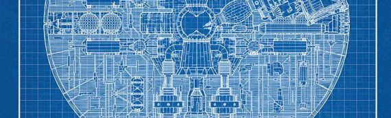 Artwork – Death Star II Blue Print
