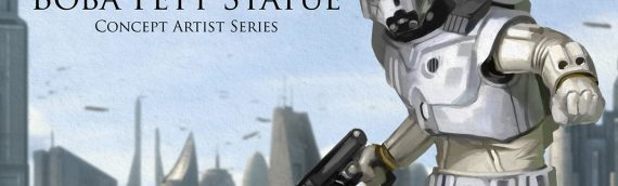 Sideshow Collectibles : Boba Fett Ralph McQuarrie Statue